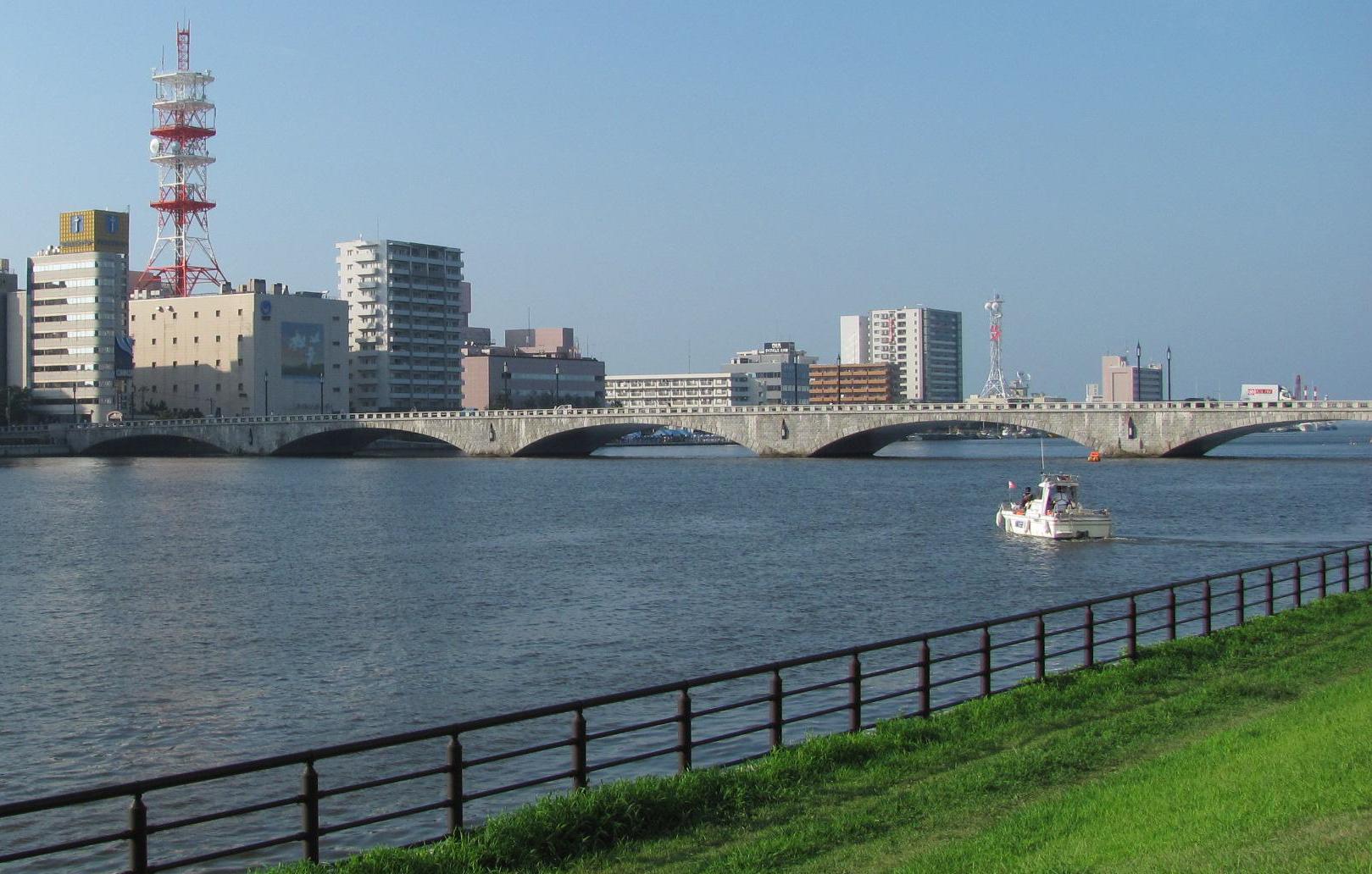 新潟 万代橋