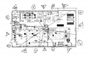 風水 店舗図面