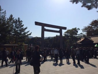 伊勢神宮パワースポットツアー、無事にいってきました。