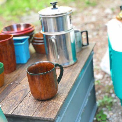 風水キャンプ コーヒー